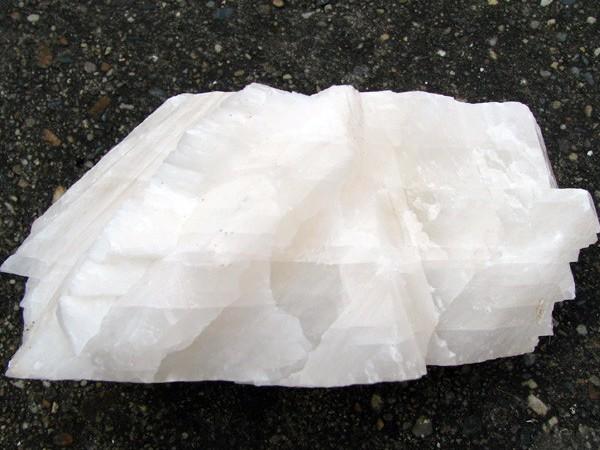 方解石的晶体形状多种多样