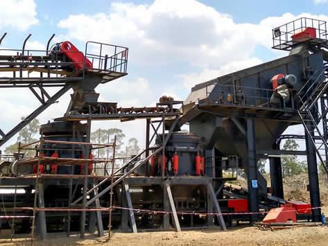 内蒙铁矿石破碎生产线