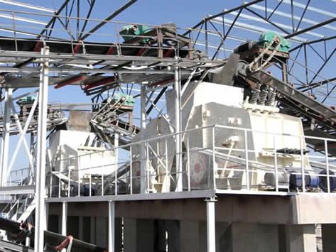 南非锰矿石破碎生产线