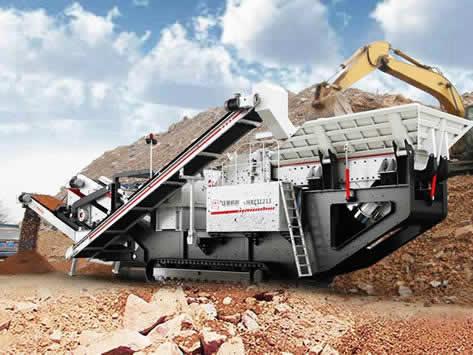 文莱移动破碎站建筑垃圾处理案例