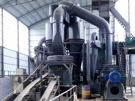 山东石膏磨粉生产线
